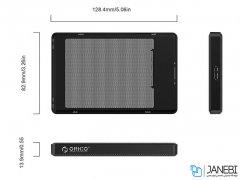 باکس هارد اینترنال به اکسترنال اوریکو Orico 2169U3 2.5inch USB3.0 HDD Enclosure