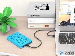 باکس هارد ضد ضربه اوریکو ORICO 2789U3 2.5 inch USB3.0 Hard Drive Enclosure with Silicone Cover