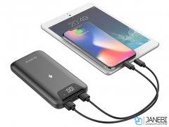 پاور بانک و شارژر وایرلس اوریکو Orico WR10 10000mAh Wireless Charging Smart Power Bank