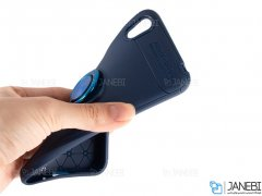 قاب ژله ای حلقه دار هواوی Becation Finger Ring Case Huawei Honor 8S