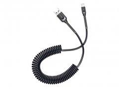 کابل شارژ و انتقال داده لایتنینگ تلفنی بیسوس Baseus Double Sring Lightning Cable 1.2M