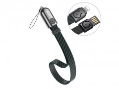 کابل شارژ و انتقال داده لایتنینگ بیسوس Baseus Golden Collar Lightning Cable