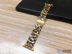 بند فلزی پلنگی اپل واچ Apple Watch Leopard Metal Band 38/40mm