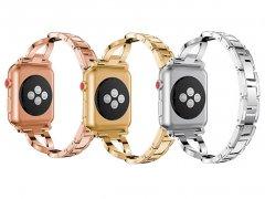 بند فلزی نگین دار اپل واچ Apple Watch Jeweled Metal Bracelet 38/40mm