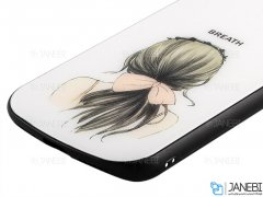 قاب محافظ آیفون طرح دختر Apple iPhone X/XS Girl Case