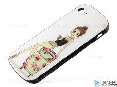 قاب محافظ آیفون طرح دختروچمدان Apple iPhone 7/8 Girl&Suitcase Case
