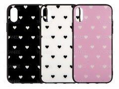 قاب محافظ آیفون طرح قلب آویزدار Apple iPhone X/XS Love Case