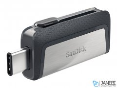 فلش مموری دوسر سندیسک Sandisk Ultra Dual USB Type-C 64GB