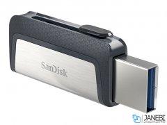 فلش مموری دوسر سندیسک Sandisk Ultra Dual USB Type-C 32GB