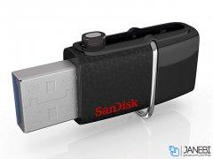 فلش مموری دوسر سندیسک Sandisk Ultra Dual USB Drive 3.0 16GB