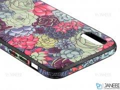 قاب محافظ آیفون طرح گل Apple iPhone XS Max Flowers Case