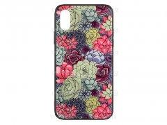 قاب محافظ آیفون طرح گل Apple iPhone X/XS Flowers Case