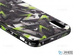 قاب محافظ آیفون طرح مثلث Apple iPhone XS Max Triangle Case