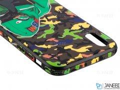 قاب محافظ آیفون طرح چریکی Apple iPhone XS Max Army Case