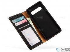 کیف محافظ هوانمین سامسونگ Huanmin Magnetic Wallet Samsung Galaxy S10