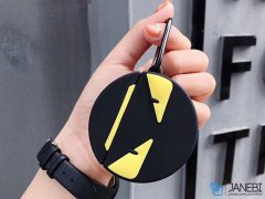 کاور محافظ سیلیکونی ایرپاد طرح فندی Fendi Silicone Case Apple Airpods