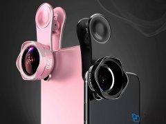لنز واید و ماکرو گوشی موبایل لی کیو آی LIEQI LQ-182 Wide Angle & Macro Lens