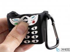 کاور طرح دار ایرپاد Silicone Phone Shape Case Apple Airpods