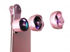 لنز واید و ماکرو و فیش آی گوشی موبایل لی کیو آی Lieqi LQ-183 Wide Angle & Macro & Fisheye Lens