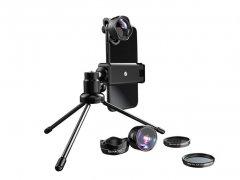 لنز گوشی موبایل با سه پایه لی کیو آی Lieqi LQ-185 5in1 Lens