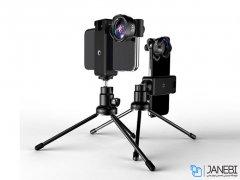 لنز 5 تایی گوشی موبایل با سه پایه لی کیو آی Lieqi LQ-185 5in1 Lens