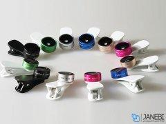 لنز فیش آی و واید ماکرو گوشی موبایل لی کیو آی Lieqi F-516 Wide Angle & Macro & Fisheye Lens