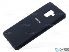 قاب محافظ سیلیکونی سامسونگ Silicone Cover Samsung Galaxy A8 Plus 2018
