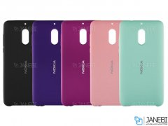 قاب محافظ سیلیکونی نوکیا Silicone Cover Nokia 6