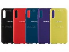 قاب محافظ سیلیکونی Samsung Galaxy A50 Silicone Case