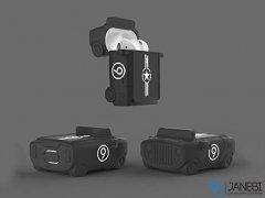 کاور محافظ سیلیکونی ایرپاد طرح جیپ Jeep Silicone Case Apple Airpods