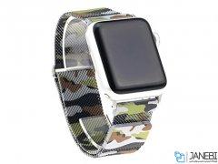 بند فلزی چریکی اپل واچ Apple Watch Milanese Loop Band 42/44mm