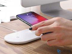 شارژر وایرلس سریع بیسوس Baseus BSWC-P19 Smart 2 in 1 Wireless Charger