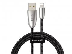 کابل شارژ و انتقال داده لایتنینگ بیسوس Baseus Torch Series Lightning Cable 2m
