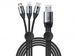 کابل شارژ سه سر بیسوس Baseus Car Co-sharing Cable 1m