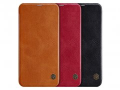 کیف چرمی نیلکین سامسونگ Nillkin Qin Leather Case Samsung Galaxy J6 Plus