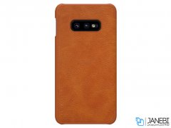 کیف چرمی نیلکین سامسونگ Nillkin Qin Leather Case Samsung Galaxy S10e