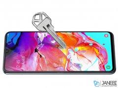 محافظ صفحه نمایش شیشه ای نیلکین سامسونگ Nillkin Amazing CP+ Pro Glass Samsung Galaxy A70