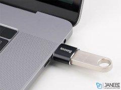 مبدل تایپ سی به یو اس بی بیسوس Baseus USB Female to Type-C Male Adapter