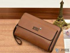 کیف چند منظوره چرمی Mont Blanc 083 Leather Bag
