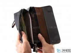 کیف چند منظوره چرمی Mont Blanc 7300 Leather Bag