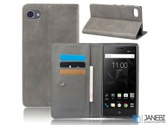 کیف طرح چرم بلک بری BlackBerry Motion Leather Cover