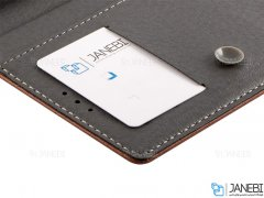 کیف طرح چرم بلک بری BlackBerry DTEK60 Leather Cover