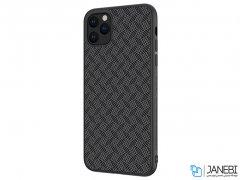 قاب محافظ فیبر نیلکین آیفون Nillkin Synthetic Fiber Plaid Case Apple iPhone 11 5.8