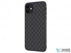 قاب محافظ فیبر نیلکین آیفون Nillkin Synthetic Fiber Plaid Case Apple iPhone 11 6.1