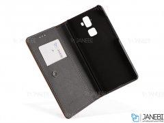 کیف طرح چرم بلک بری BlackBerry Evolve Leather Cover