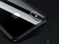 قاب مگنتی و محافظ صفحه شیشه ای آیفون Glass Magnetic 360 Case Apple iPhone X/XS