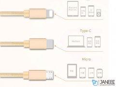 کابل شارژ سه سر باوین Bavin CB076 3in1 Cable 1m