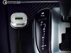 شارژر فندکی سریع و کابل لایتنینگ باوین Bavin PC533-A Lightning Car Charger