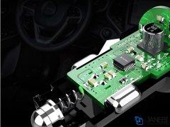 شارژر فندکی و کابل میکرو یو اس بی باوین Bavin PC526 Micro USB Car Charger