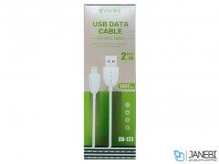 کابل شارژ و انتقال داده میکرو یو اس بی باوین Bavin CB-123 Micro USB Cable 1m